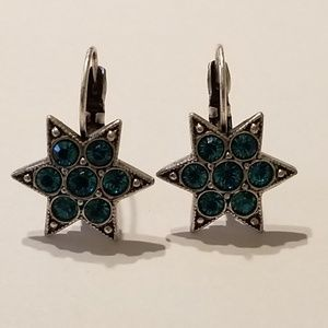 Kirks Follys Blue Star Earrings